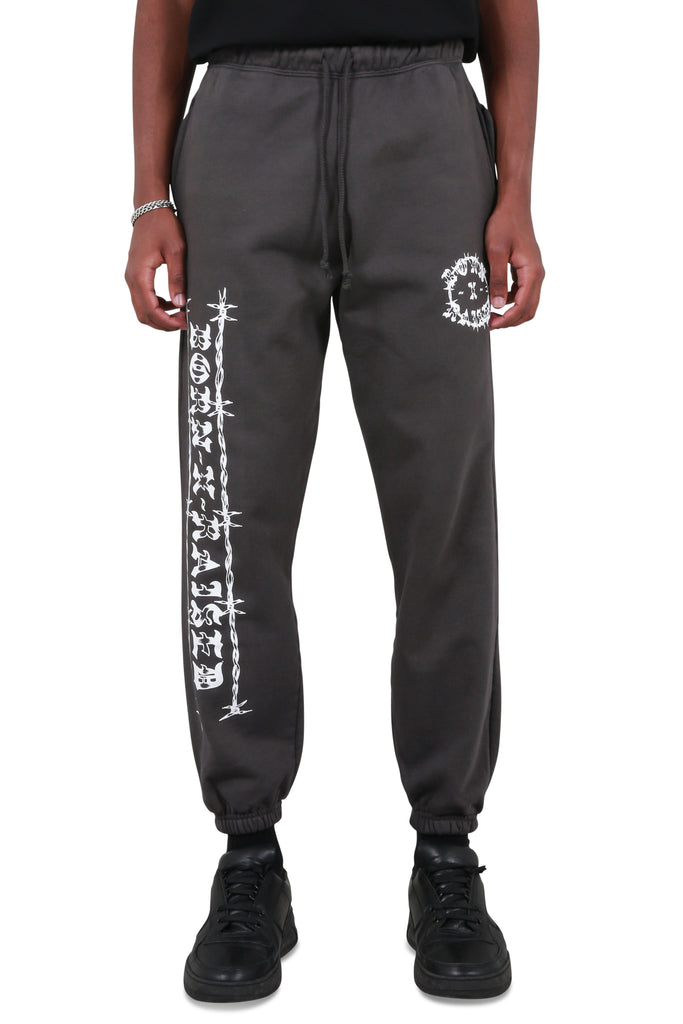 Methany Sweatpants - Charcoal