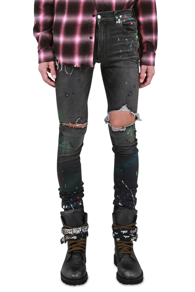 Graffiti Jeans - Dark Grey