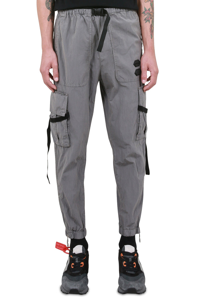 Parachute Cargo Pants - Grey