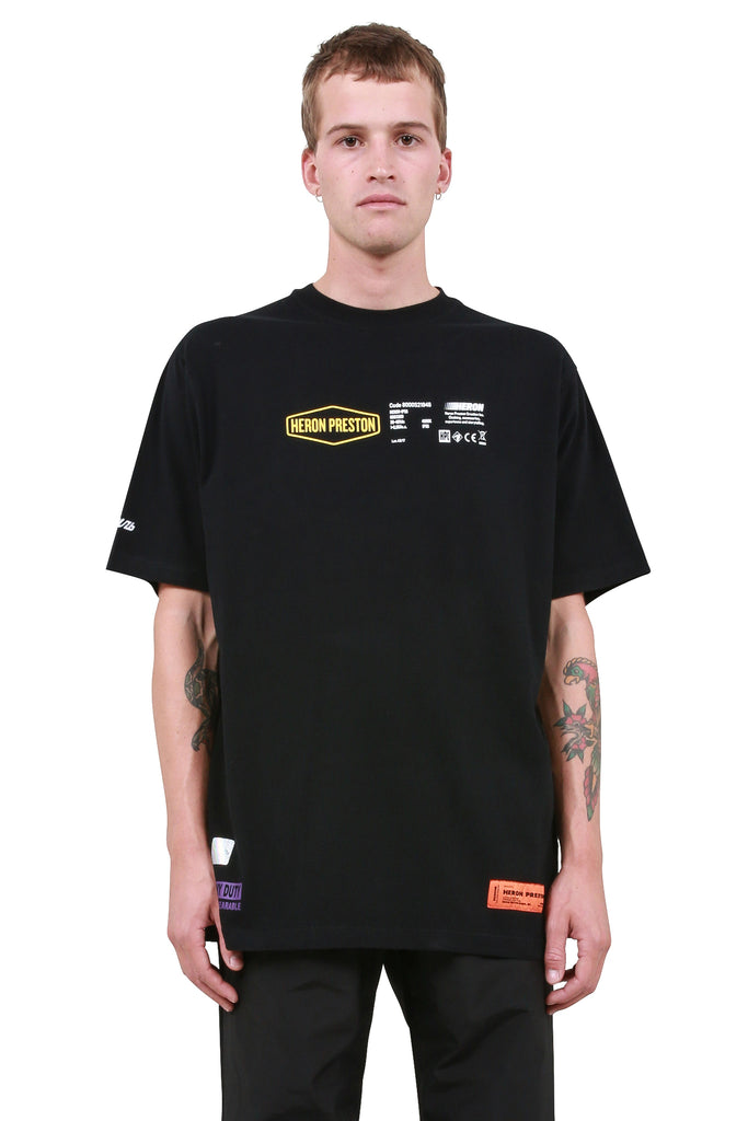 Heavy Duty T-Shirt - Black