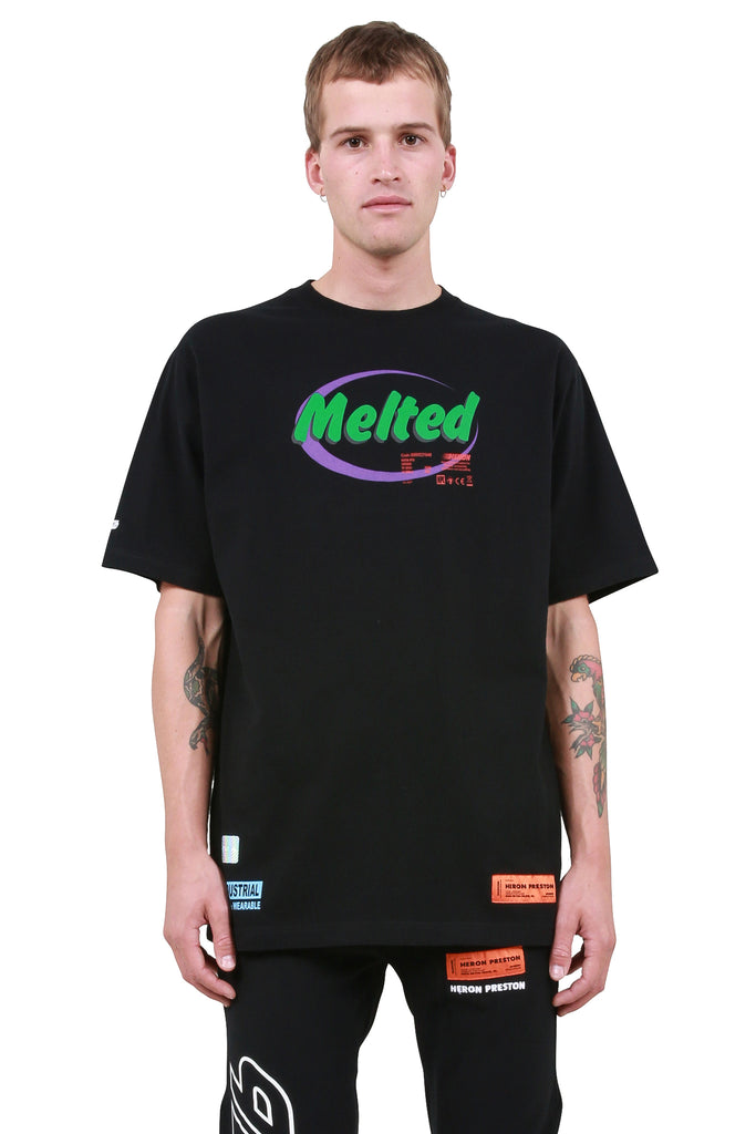 Melted T-Shirt - Black