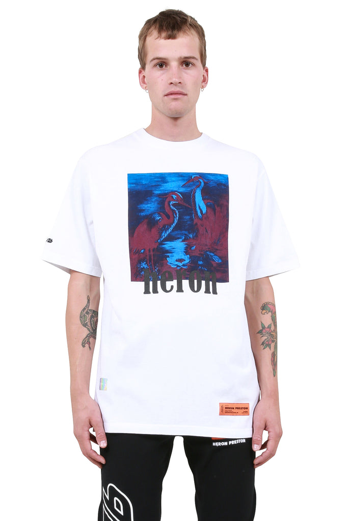 Herons T-Shirt - White