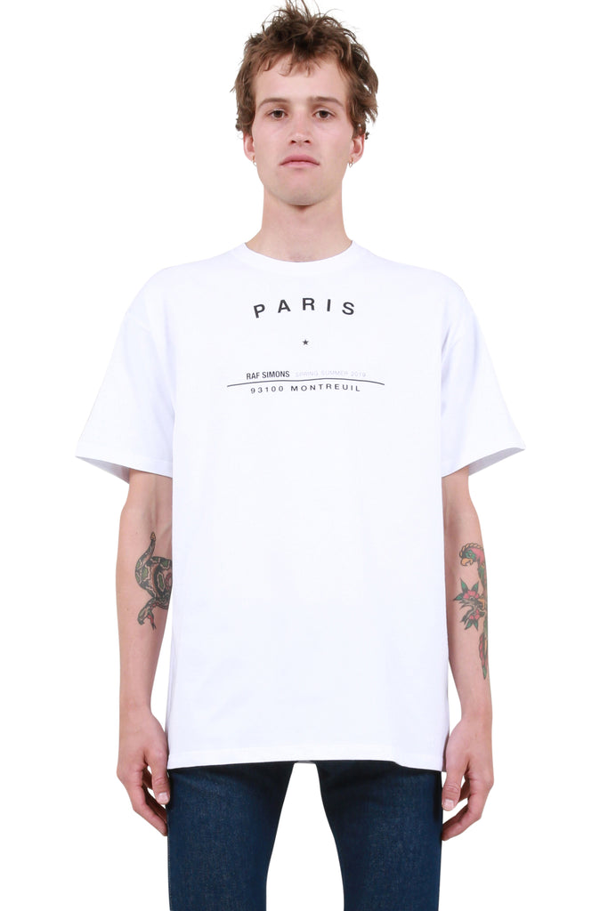 Big Fit Tour T-Shirt - White