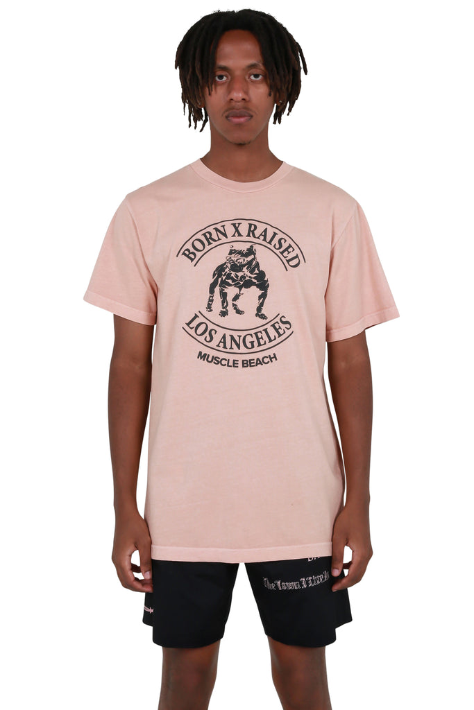 Muscle Beach T-shirt - Dusty Rose