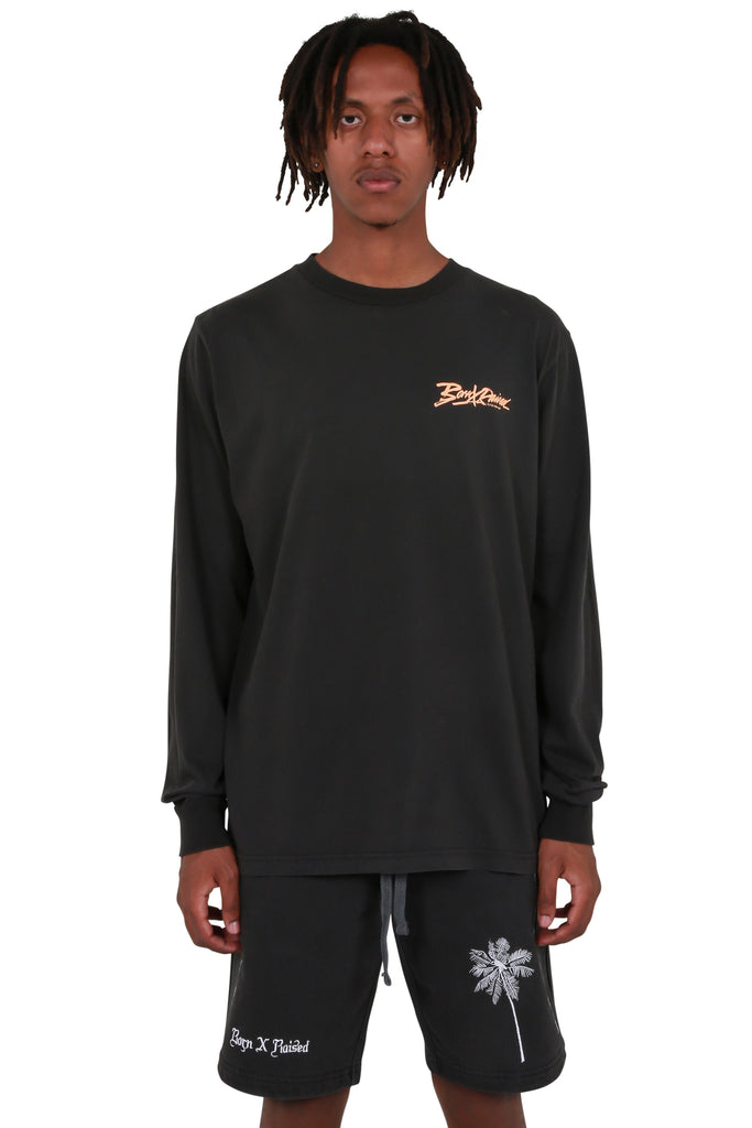 Being Watched Long Sleeve T-shirt - Black