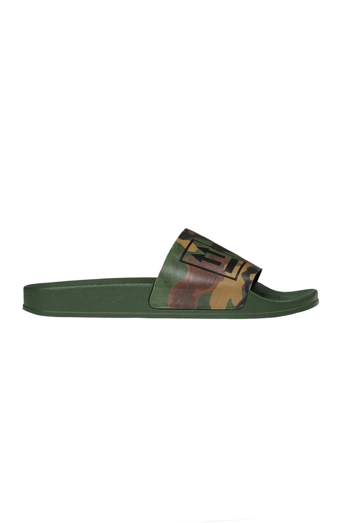 Double Arrow Slider - Military Green