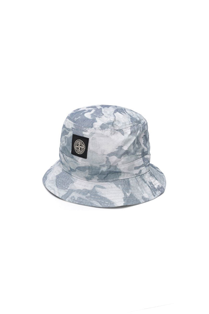 Bucket Hat - Sky Blue Camo