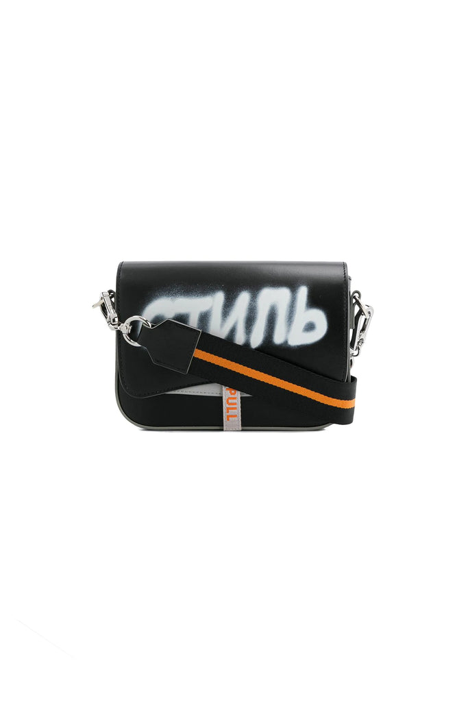 CTNMB Spray Canal Bag - Black/White