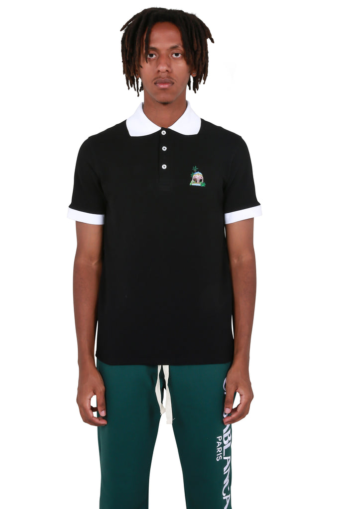 Casa Hotel Polo T-shirt - Black