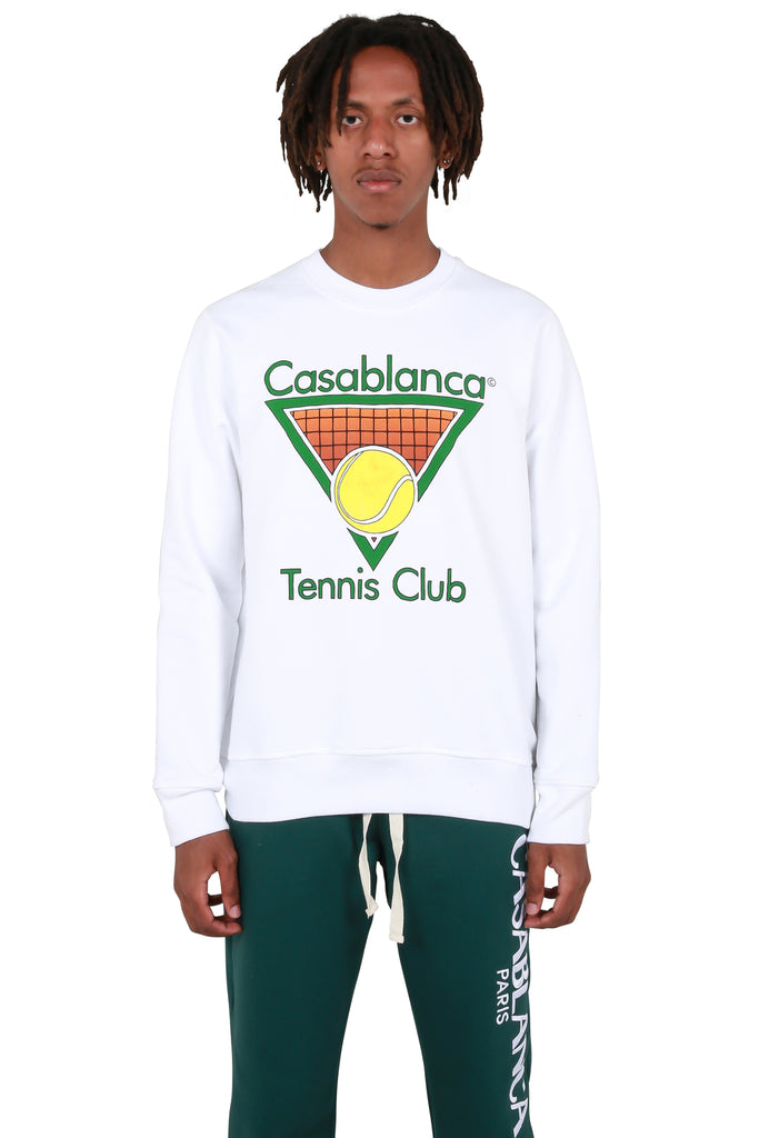Tennis Club Sweatshirt - White