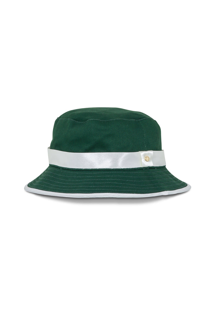 Oranges Bucket Hat - Dark Green