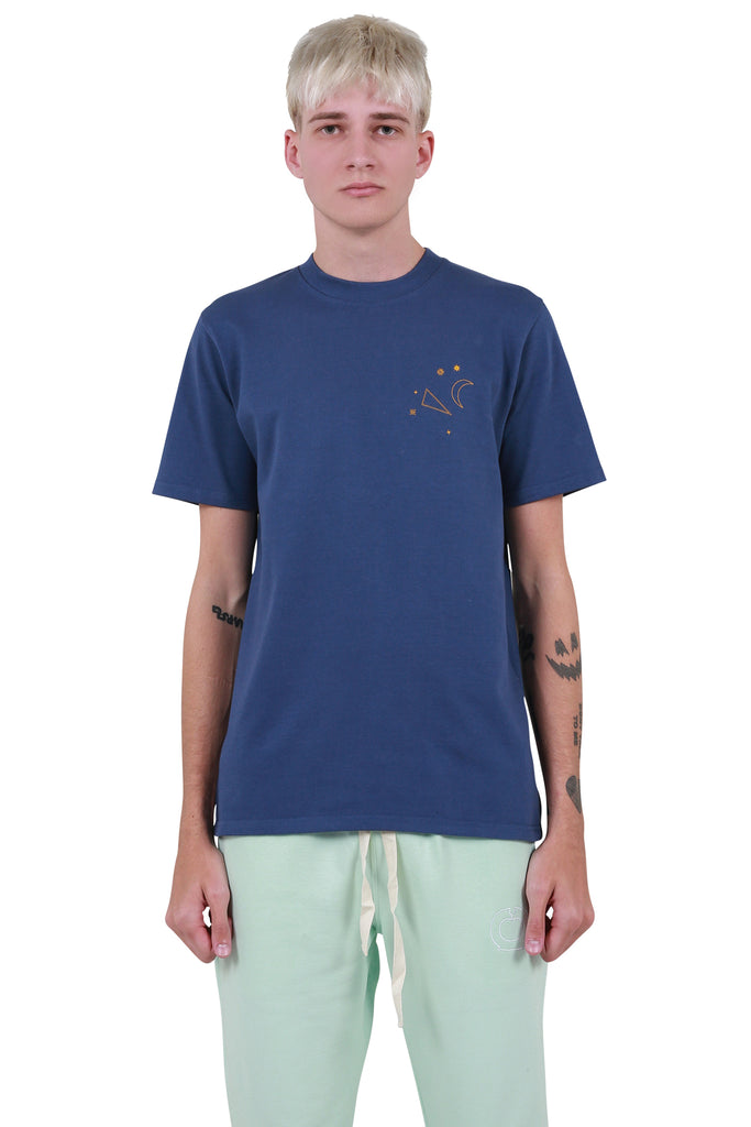 Cancer Constellation T-shirt - Navy
