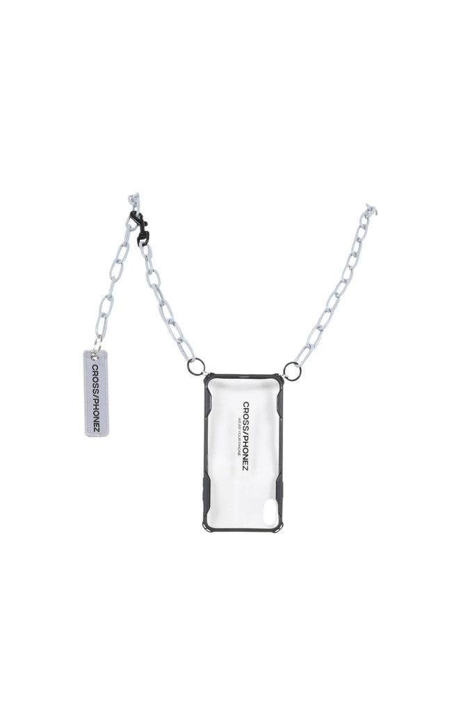 CROSSPHONEZ: Crossphone Chain Case - Grey | LESSONS