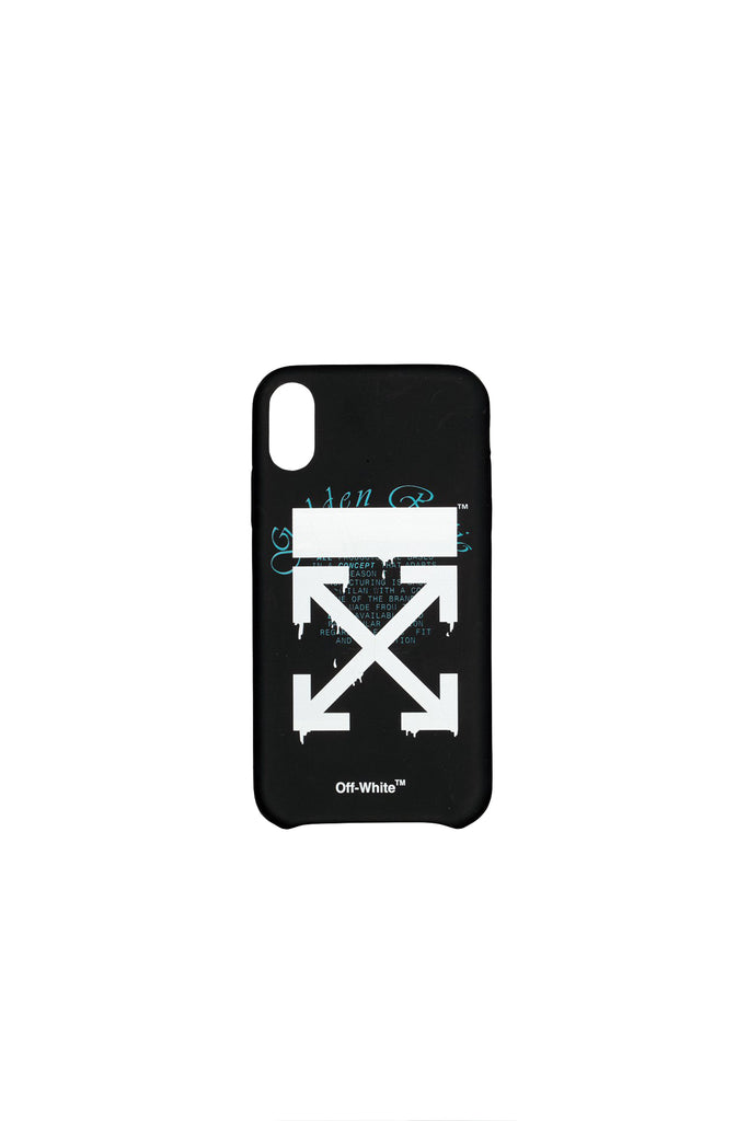 Dripping Arrows iPhone XS Max - Black/White