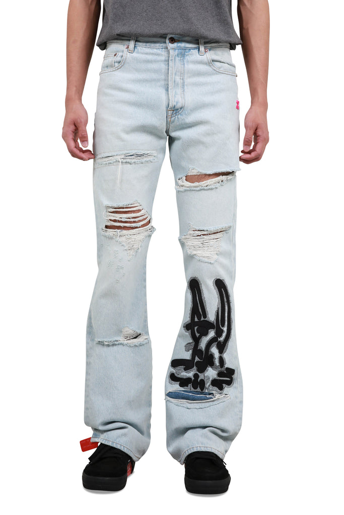 EV Low Fit Jeans - Bleach