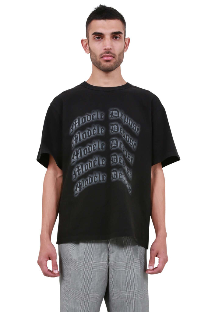 Modele Depose T-Shirt - Washed Black