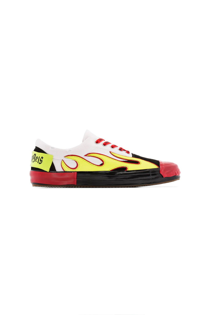Flame Sneakers - Yellow