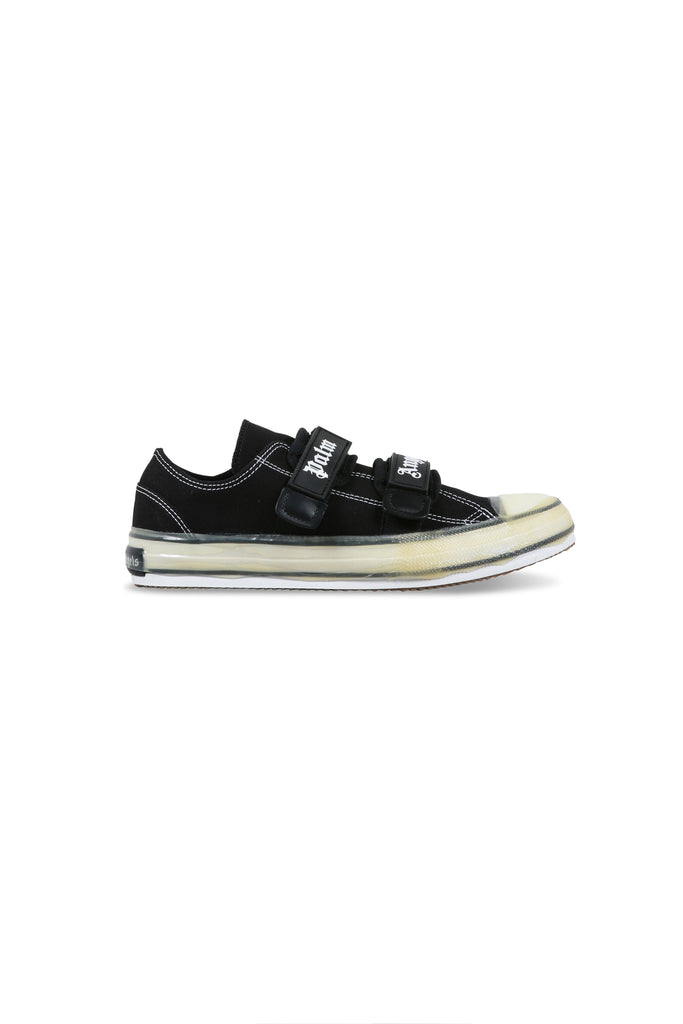 Velcro Vulcanised Sneakers - Black