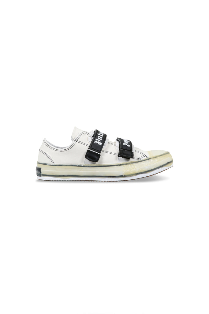 Velcro Vulcanised Sneakers - White