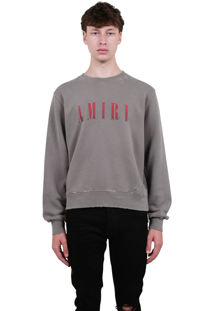 Amiri Core Crewneck - Grey