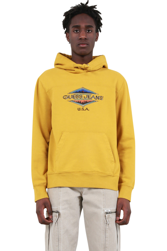 Wyoming Graphic Hoodie - Thai Curry