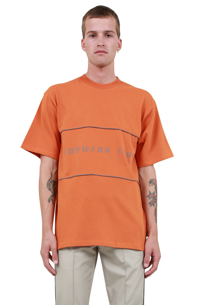 GCDS: Corp T-Shirt - Orange | LESSONS