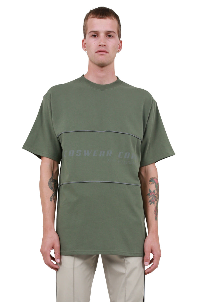 GCDS: Corp T-Shirt - Deep Green | LESSONS