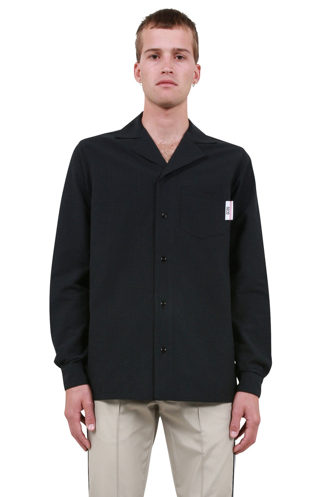 Wide Page Shirt - Black