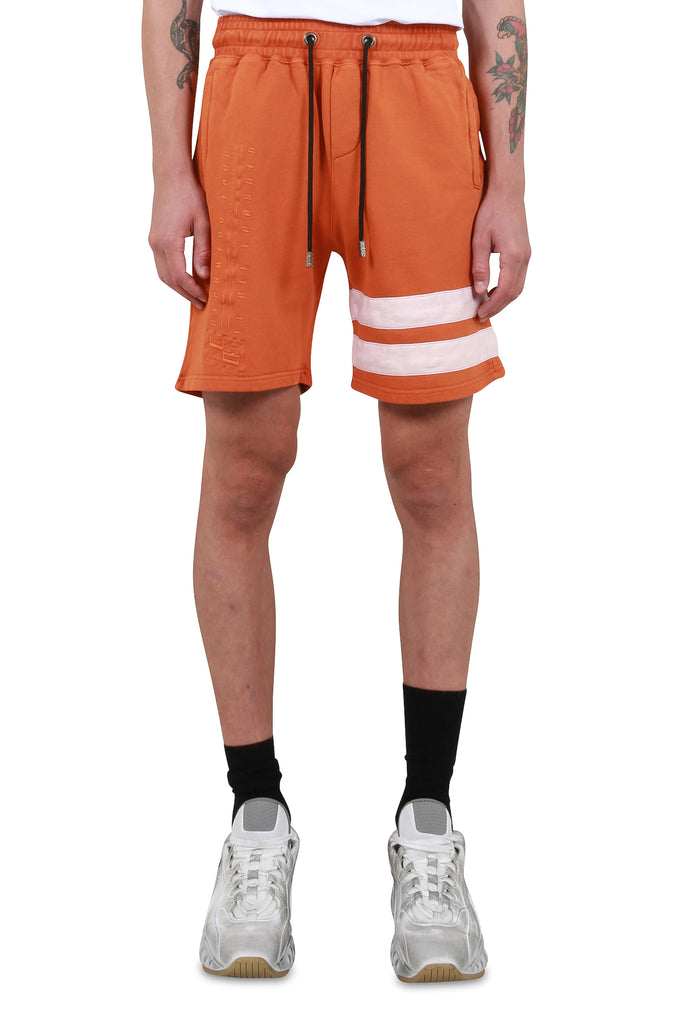 GCDS: Corp Shorts - Orange | LESSONS