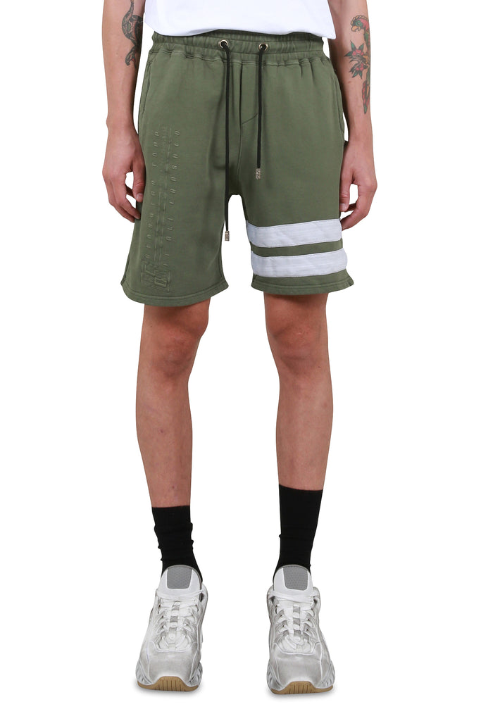 GCDS: Corp Shorts - Deep Green | LESSONS