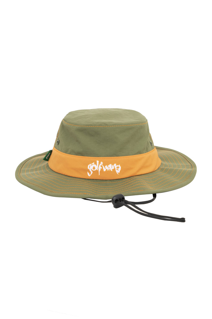 Safari Boonie Hat - Military Green