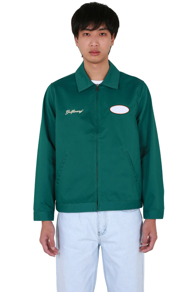 Rose Work Jacket - Green