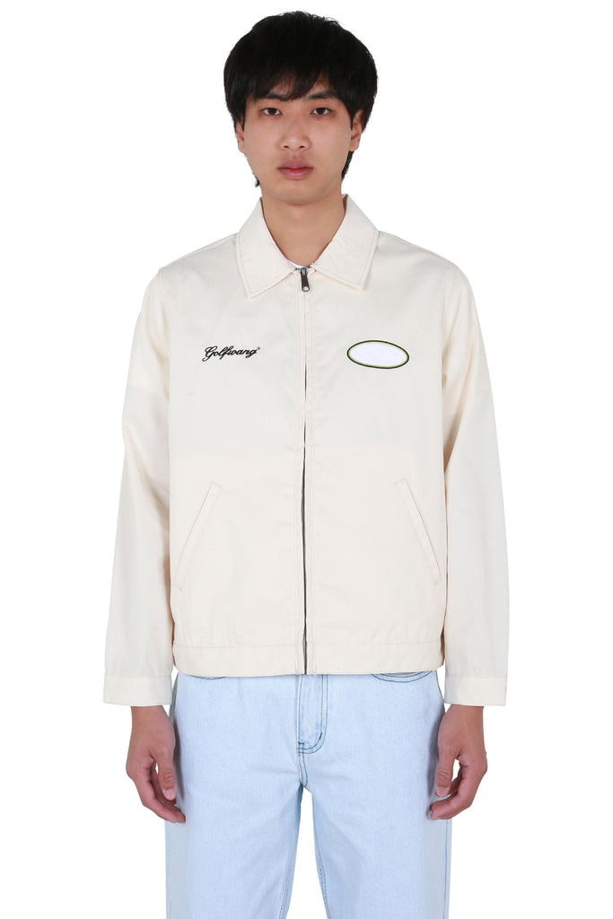 Rose Work Jacket - Cream