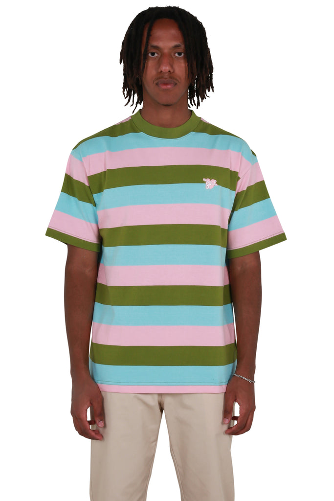 Cupid Striped T-shirt - Pink