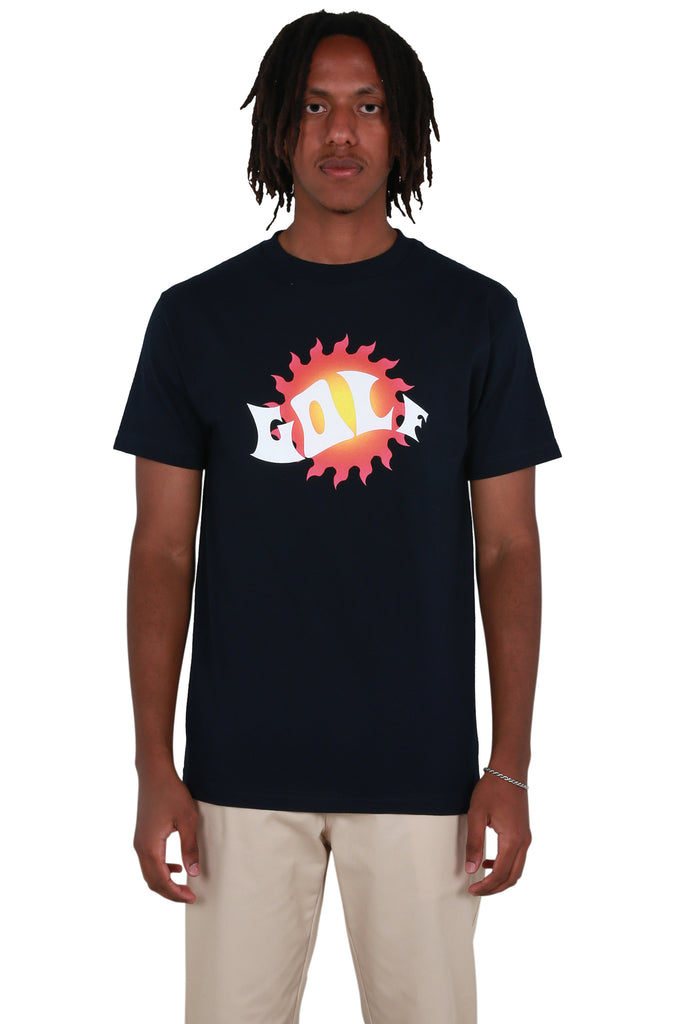 Waves T-shirt - Navy