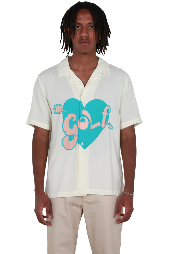 Cupid Button Up Shirt - Ivory