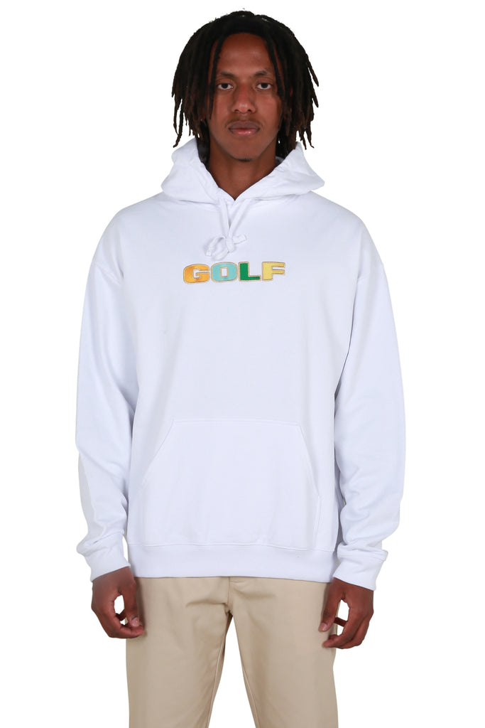 No Strings Hoodie - White