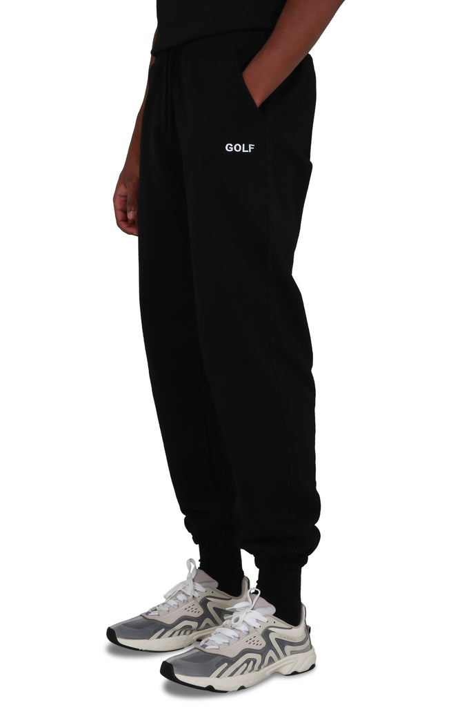 Golf Logo Sweatpants - Black