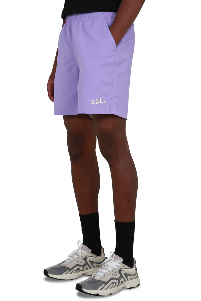 Waves Nylon Shorts - Lavender