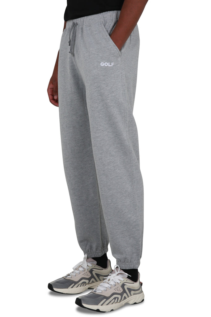 Golf Logo Sweatpants - Heather Grey