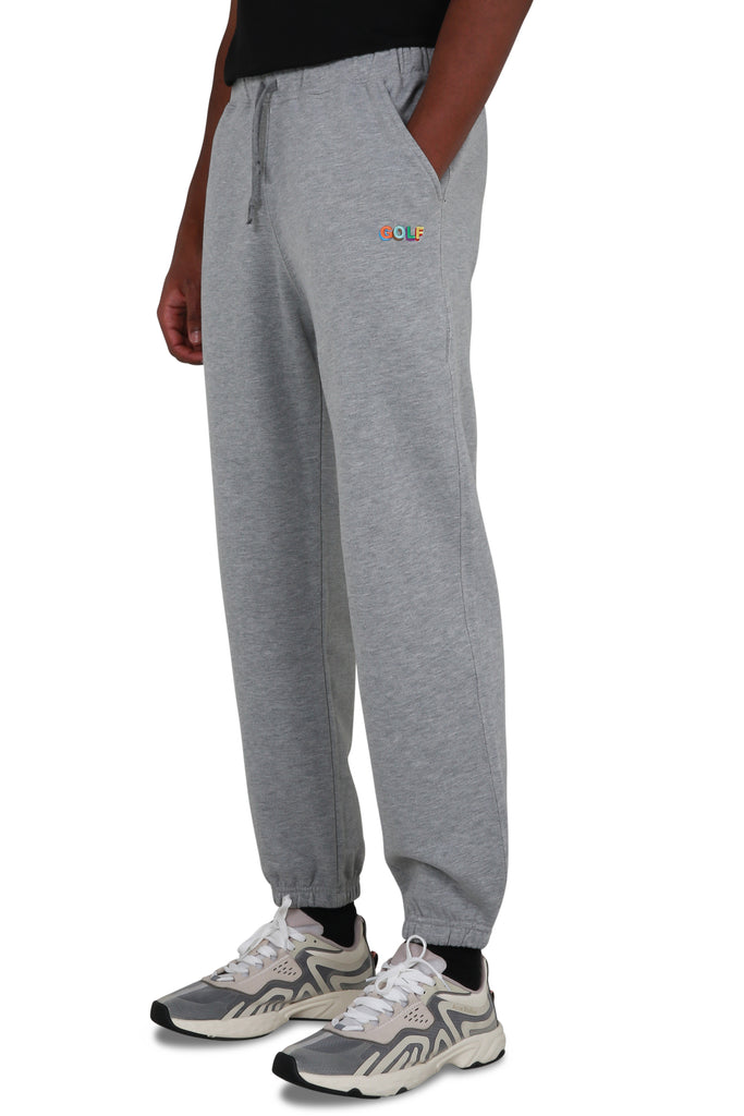 3D Mini Golf Logo Sweatpants - Grey