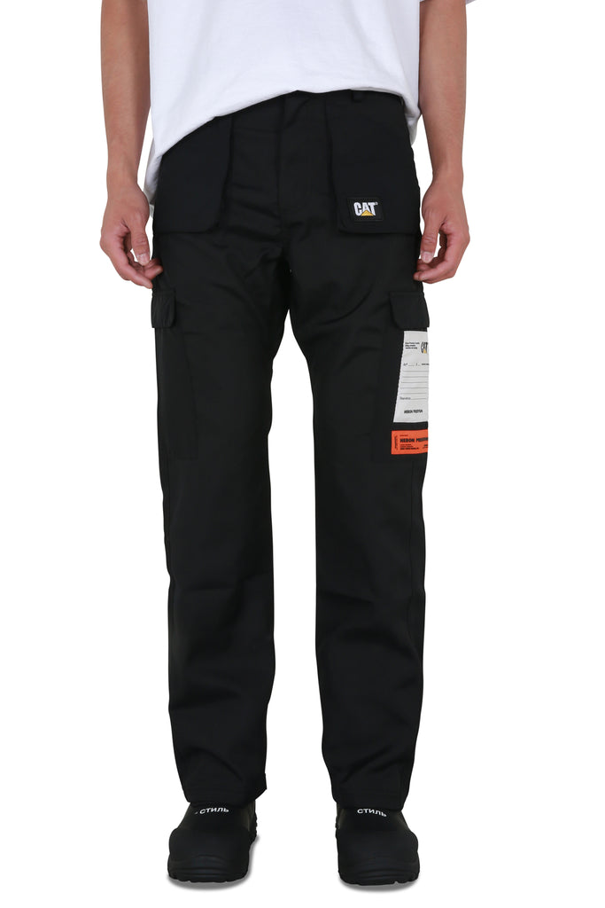 Heron Preston x Caterpillar Pocket Pants - Black