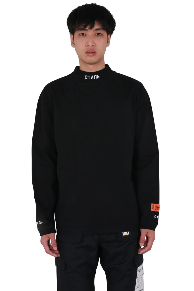 CTNMB Long Sleeve Turtleneck - Black/White