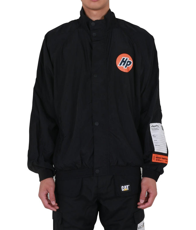HP Nylon Windbreaker - Black/White