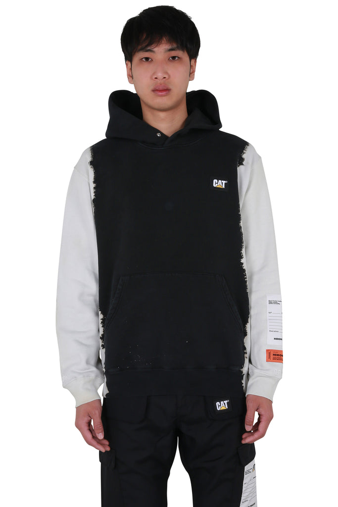 Heron Preston x Caterpillar Classic Hoodie - Phantom White
