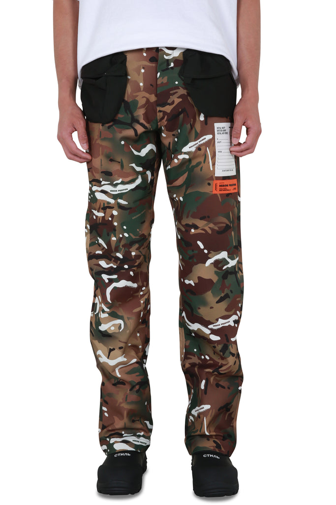 Camouflage Pocket Pants