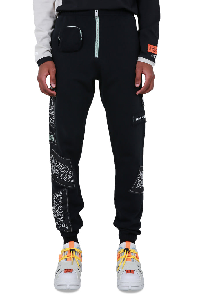 HP x Sami Miro Sweatpants - Black/White