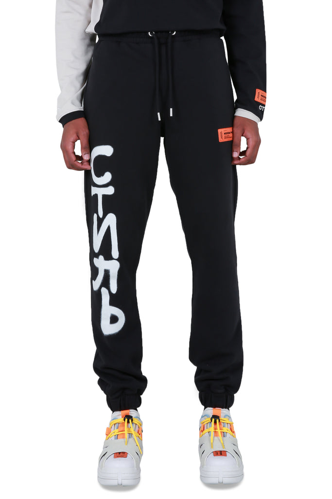 CTNMB Spray Sweatpants - Black/White