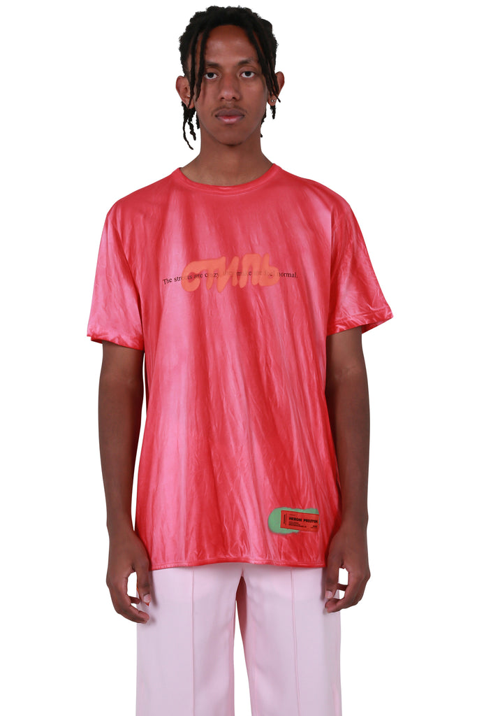 CTNMB Spray Regular T-shirt - Fuchsia