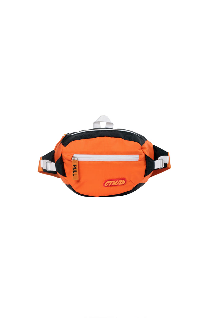 HERON PRESTON: CTNMB Padded Fanny Pack - Orange | LESSONS